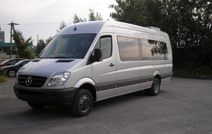 Minibus rental with driver riga latvia for Mercedes benz sprinter rental price